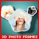 3D Photo Frames - GraphicRiver Item for Sale