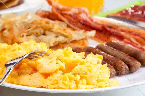 PhotoDune Hearty Breakfast 465613