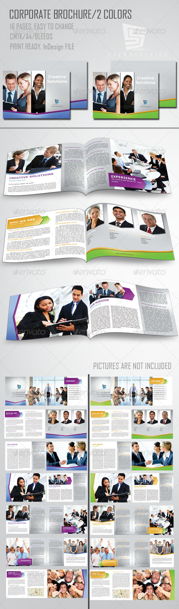 GraphicRiver Corporate Brochure 4164732