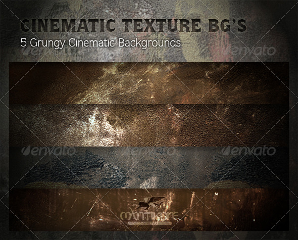 GraphicRiver Cinematic Texture Backgrounds 4324985