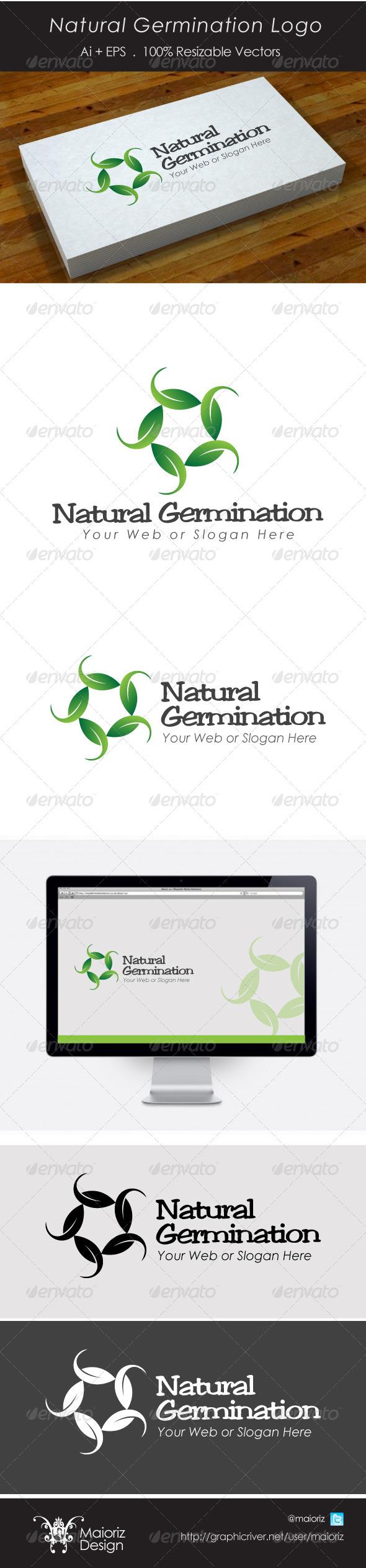 GraphicRiver Natural Grow Logo 4325272