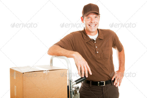 PhotoDune Casual Delivery Guy or Mover 465521