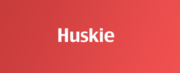 Huskie-homepage