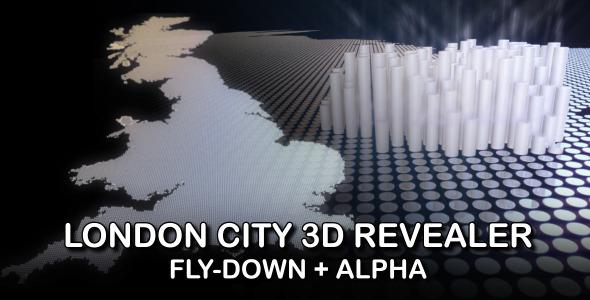 3D London City Revealer