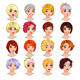 Fashion Female Avatars.  - GraphicRiver Item for Sale
