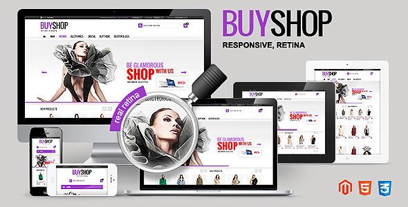ThemeForest BUYSHOP Premium Responsive Retina Magento theme 4287671