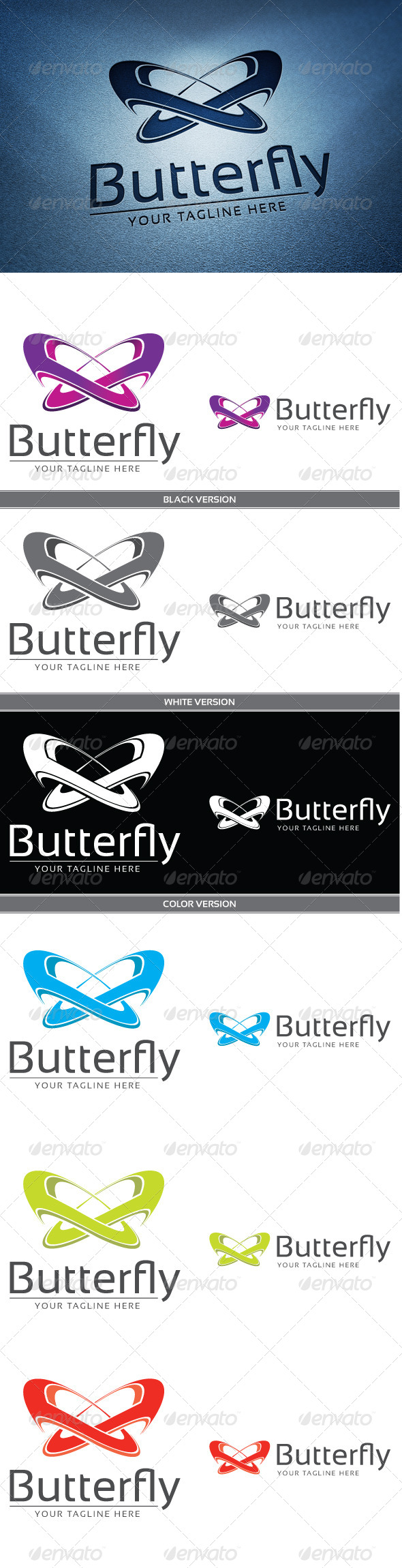 GraphicRiver Butterfly 4244427