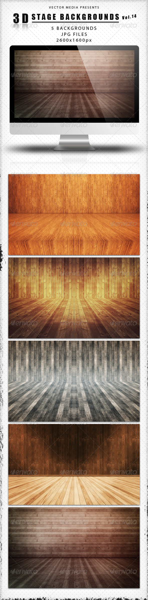 GraphicRiver 3D Stage Backgrounds Vol.14 4329251