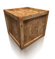 wooden box crate - PhotoDune Item for Sale