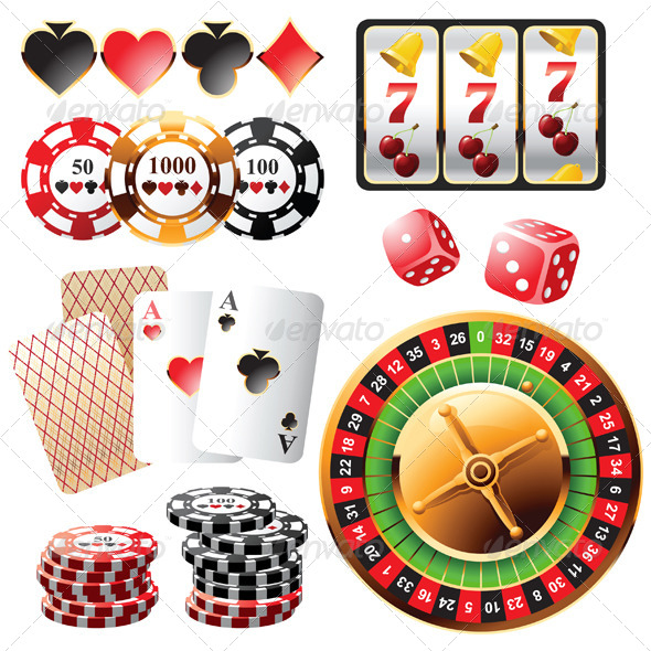 GraphicRiver Casino Design Elements 4329936