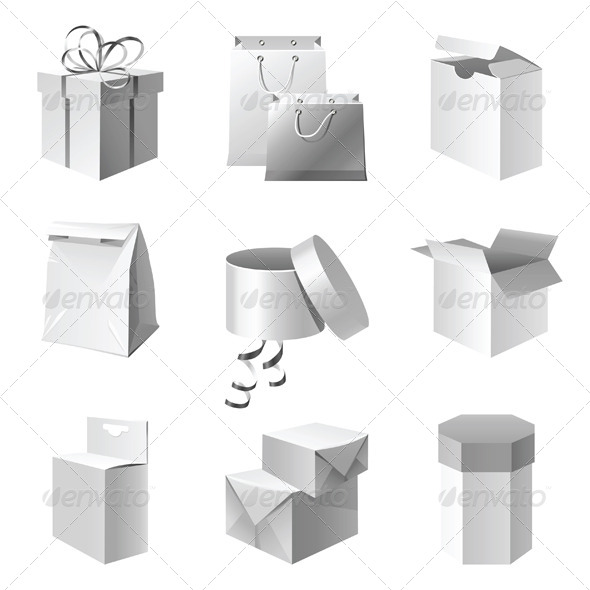 GraphicRiver Package Icons 4330351
