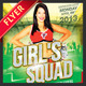 Cheerleader Tryout Flyer - GraphicRiver Item for Sale