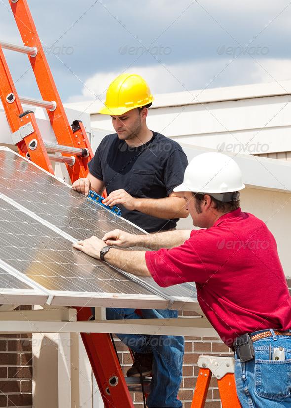 PhotoDune Green Jobs Solar Energy 466034