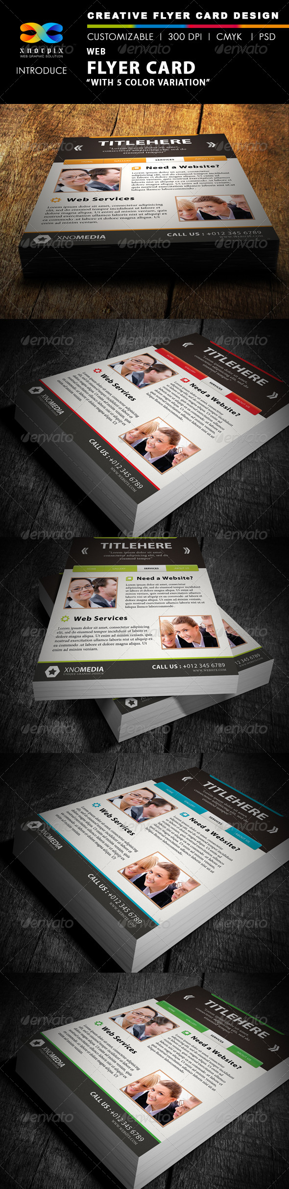 GraphicRiver Web Flyer 4026185