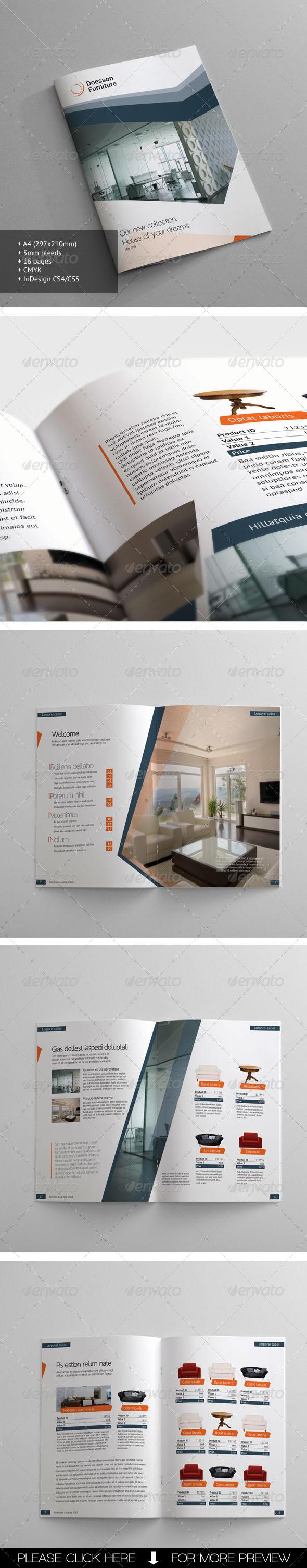 GraphicRiver Furniture Catalogue 4208037