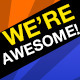 We're Awesome - AudioJungle Item for Sale