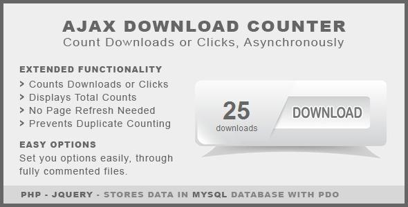 CodeCanyon Ajax Download Counter 4332518