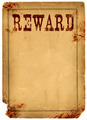 Blood Stained Reward Poster 1800s Wild West - PhotoDune Item for Sale