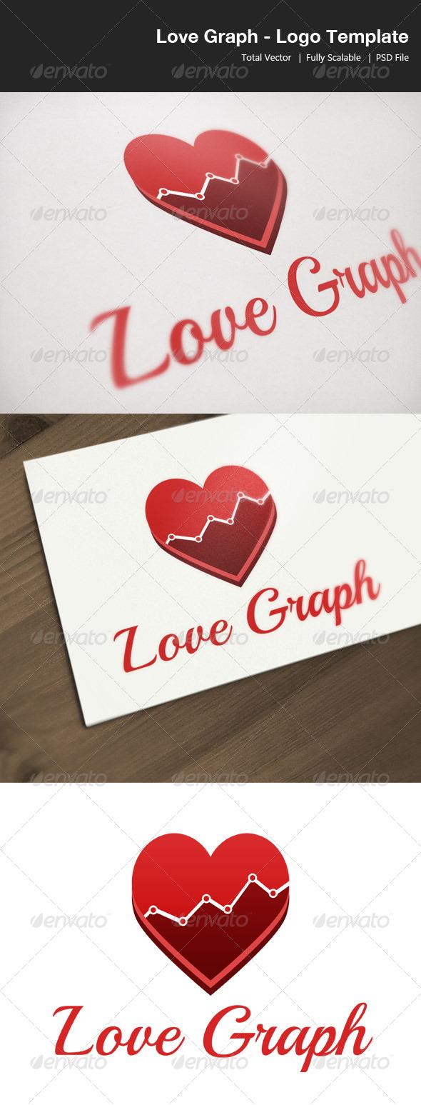 GraphicRiver Love Graph Logo Template 4243534