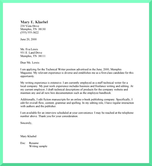 Business Letter Format Mla. Sample Business Letter The 25+ Best