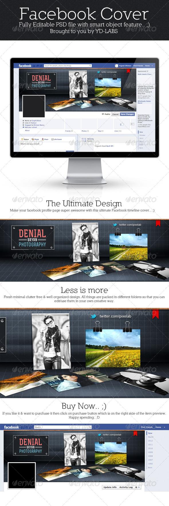 FB Creative Shelf Cover - Facebook Timeline Covers Social Media
