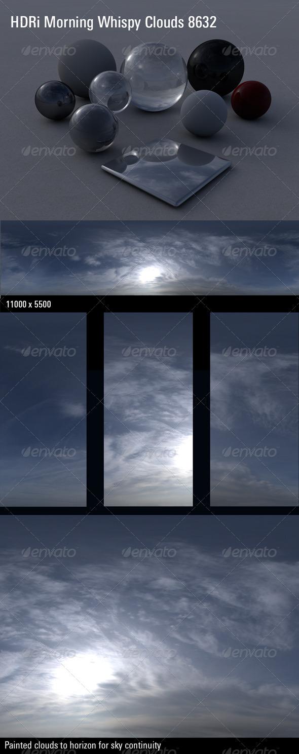 3DOcean HDRi Morning Whispy Clouds 8632 4333464