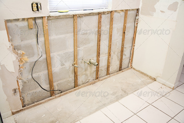 PhotoDune Water Damage in Kitchen 466391