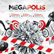 Megapolis Sound Party Flyer - GraphicRiver Item for Sale