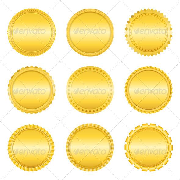 GraphicRiver Golden Labels 4077169