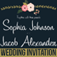Flowers Wedding Invitation Card / Postcard - GraphicRiver Item for Sale