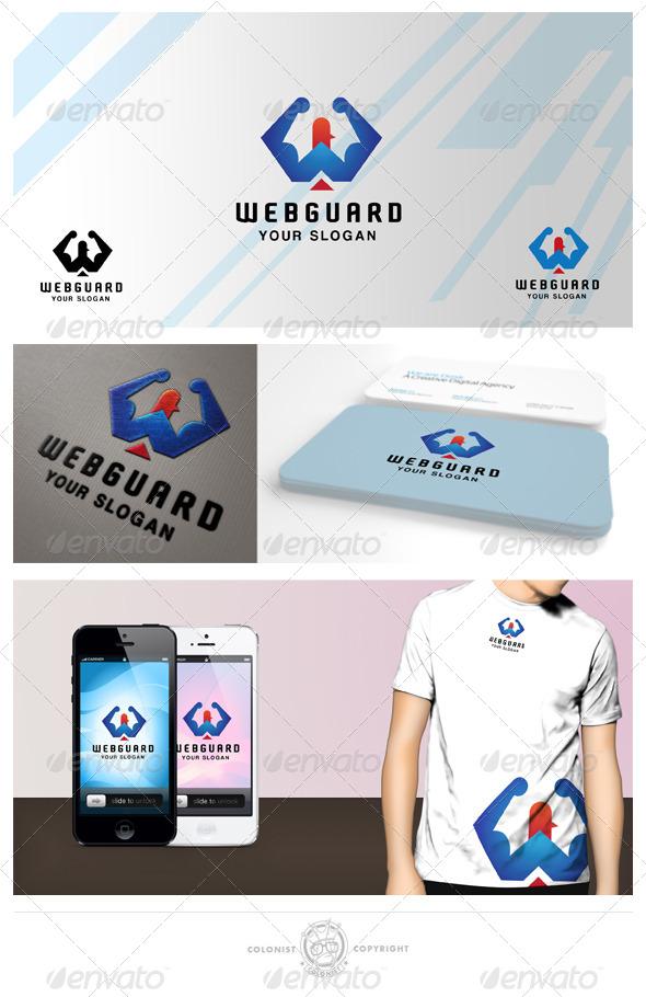 GraphicRiver Web guard Logo 4340638