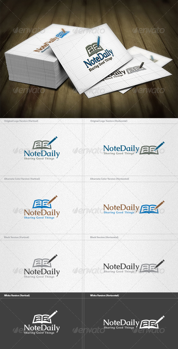 GraphicRiver Daily Note Logo 4340961