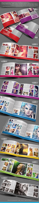 Photography Portfolio A4 Brochure -V6 - Portfolio Brochures