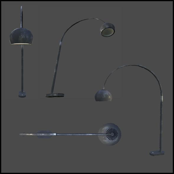 3DOcean Condo Lamp 4341343