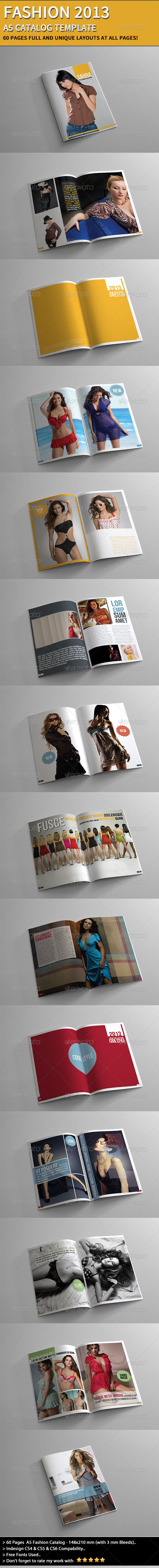 GraphicRiver Fashion Catalog 2013 4341404