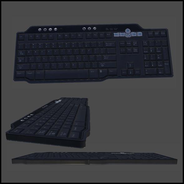3DOcean Office Keyboard 4341628
