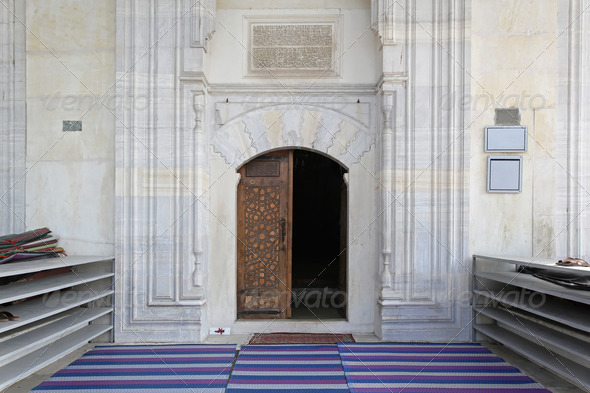 Mosque entrance - Stock Photo - Images