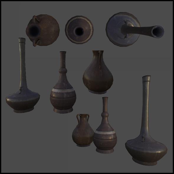 3DOcean Arabic Pottery 4341770