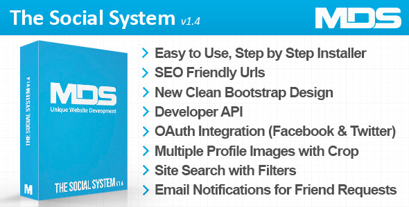 The Social System - CodeCanyon Item for Sale