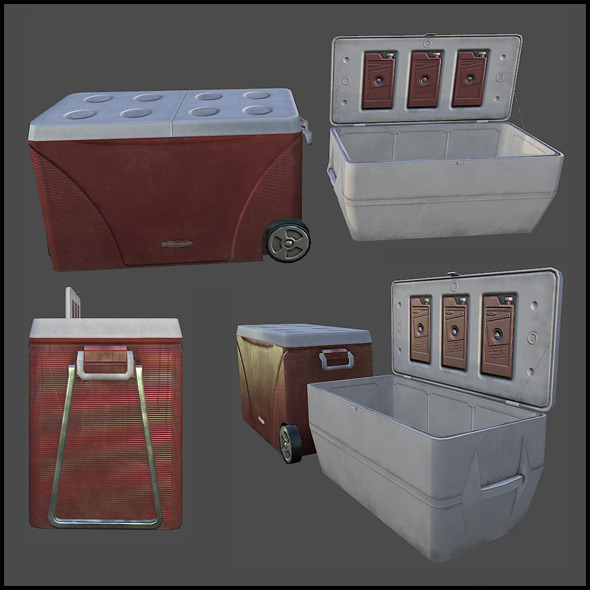 Cooler Box - 3DOcean Item for Sale