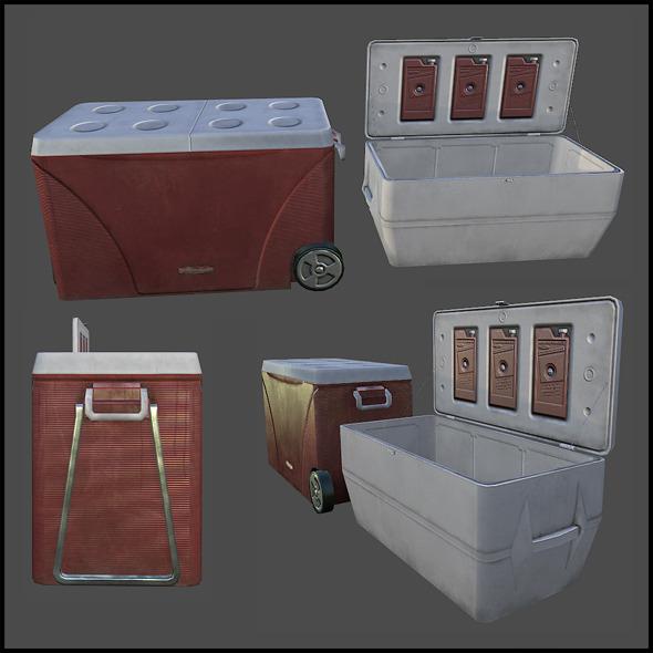 3DOcean Cooler Box 4342102