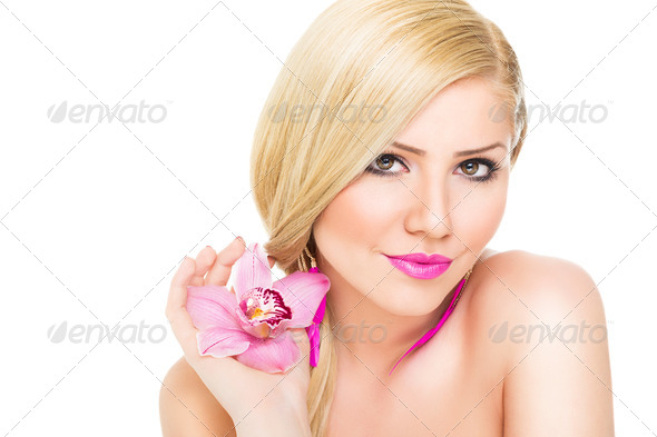 Pure beauty in pink - Stock Photo - Images