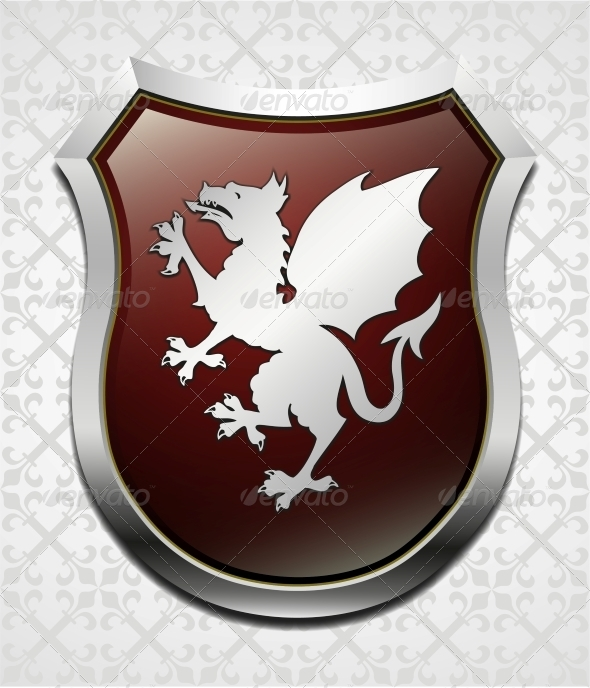 GraphicRiver Arms with Dragon Vector 4342208