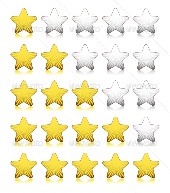 GraphicRiver Rating Stars 4342709
