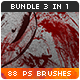 88 Bloody Splatters Photoshop Brushes - GraphicRiver Item for Sale