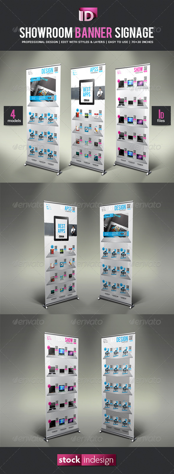 GraphicRiver ShowRoom Banner Signage 4343273