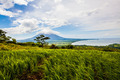Vulcano Landscape With Green Fields - PhotoDune Item for Sale
