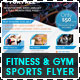 Fitness & Gym - Sports Business Flyer - GraphicRiver Item for Sale