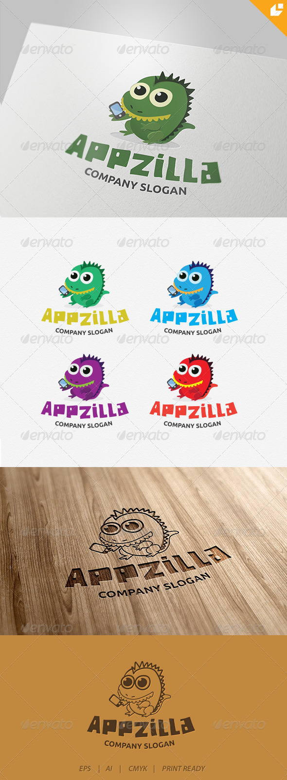 GraphicRiver Application logo v1 4343392