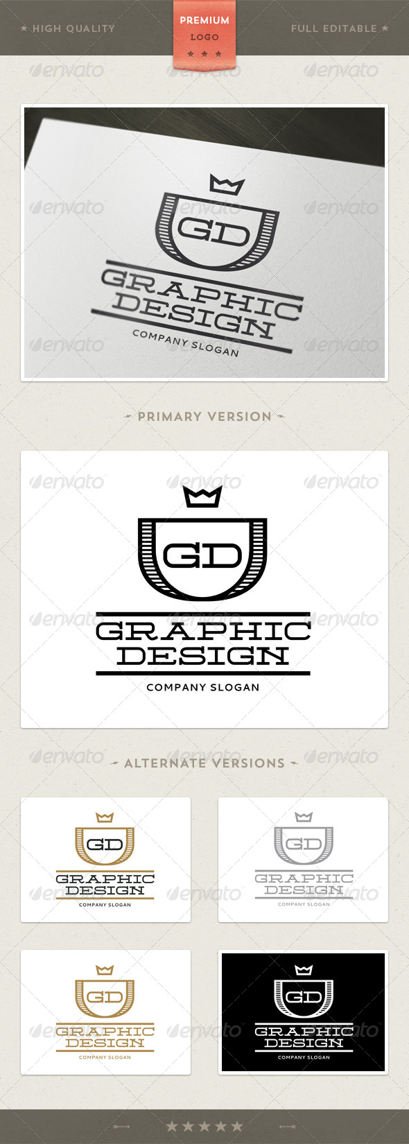 GraphicRiver GD Multipurpose Logo Template 4343783